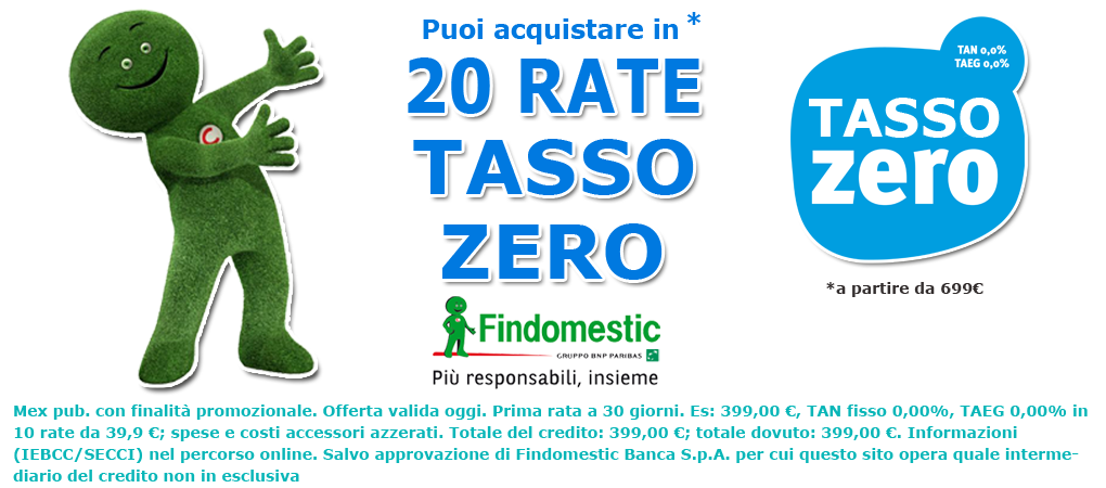 20 rate findomestic
