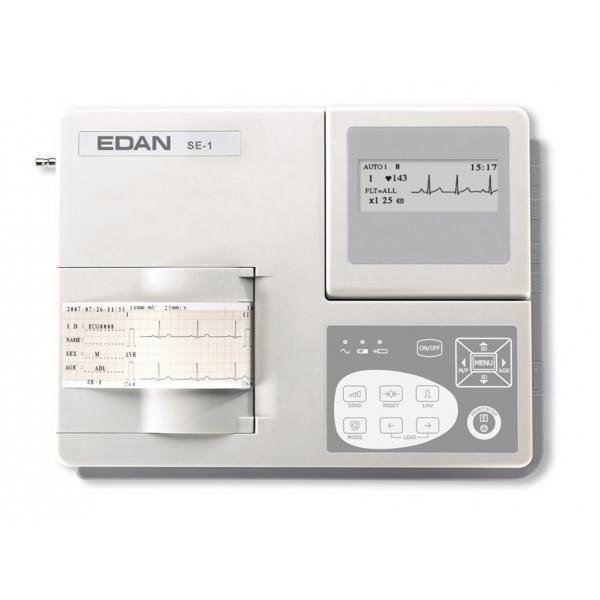 GIMA  ECG EDAN SE-1 - 1 canale con monitor Cod. 33330