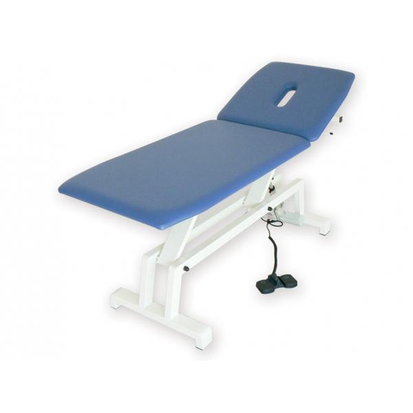 GIMA  Lettino elettrico per trattamenti blu