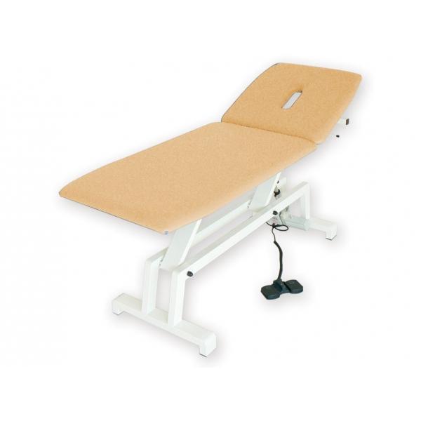 GIMA  Lettino elettrico per trattamenti colore beige
