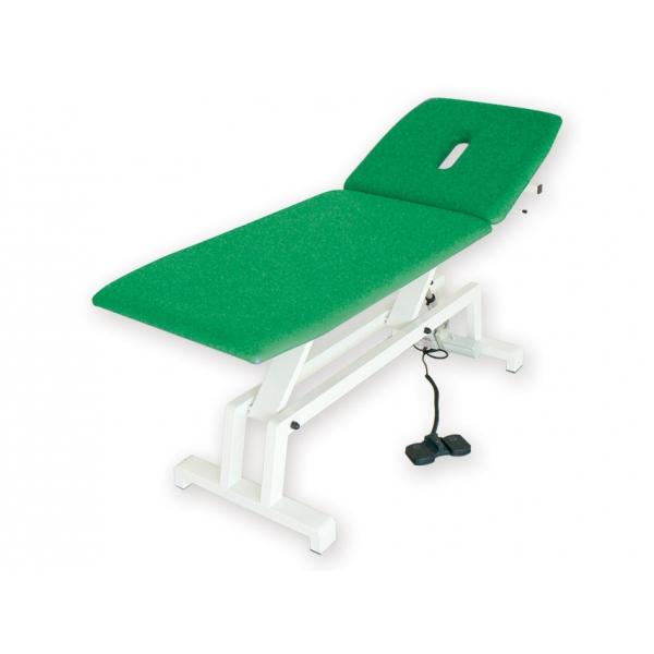 GIMA  Lettino elettrico per trattamenti verde