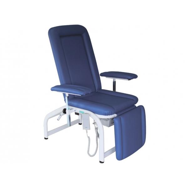 GIMA  Poltrona Elettrica per donatori colore blu