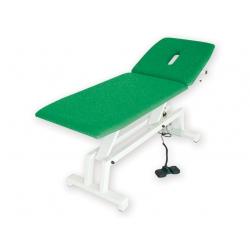 Lettini per visiteGIMALettino elettrico per trattamenti verde
