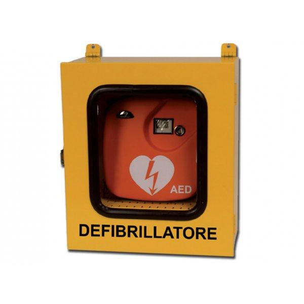 GIMA  ARMADIETTO PER DEFIBRILLATORI uso esterno con allarme cod:35335