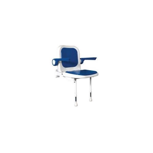 ALLMOBILITY  Sedile imbottito con schienale e braccioli per doccia