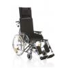 Carrozzina pieghevole con schienale prolungato - Serie Comfy Cod. CP810-xx