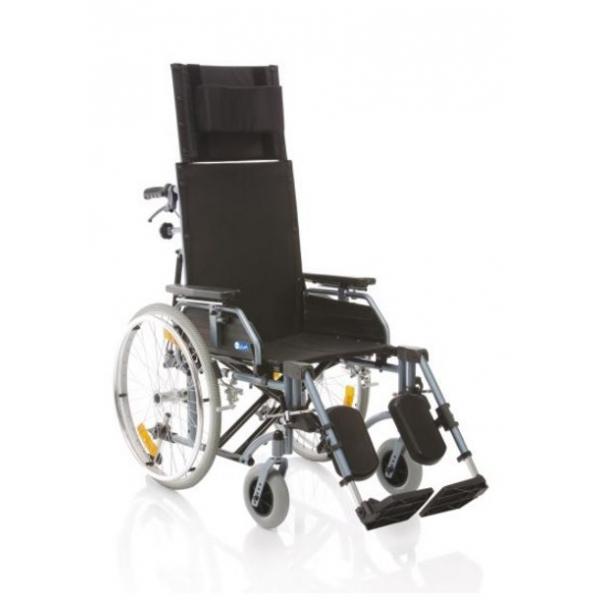 ARDEA ONE  Carrozzina pieghevole con schienale prolungato - Serie Comfy Cod. CP810-xx