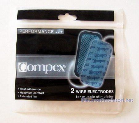 COMPEX  Elettrodi adesivi grandi