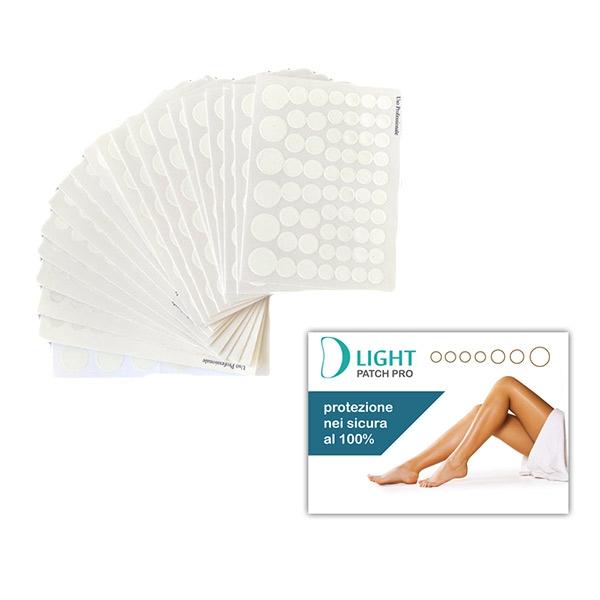 D LIGHT  Patch Pro Pack 20 fogli da 62 patch per protezione nei