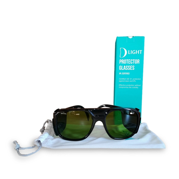 Depilazione Epilazione D Light Occhiali Protettivi Con Custodia