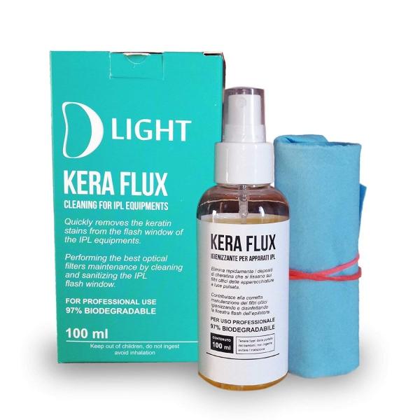 Depilazione Epilazione D Light Kera Flux Detergente Per Filtri Ottici