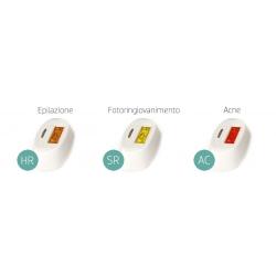 Depilazione EpilazioneD LIGHTLampada di ricambio per D Light 360 da 300.000 spot, modello a scelta tra HR - SR – AC