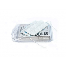 Elettrodi e ricambi elettrostimolatoriGLOBUSElettrodi adesivi Myotrode Plus 50x100 doppia entrata