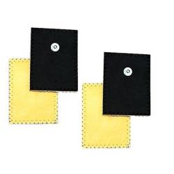 Elettrodi e ricambi elettrostimolatoriGLOBUS4 Elettrodi in daino per ionoforesi 80 x 120 mm
