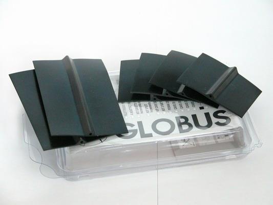 GLOBUS  6 elettrodi in silicone conduttivo