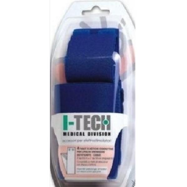 I-TECH  Kit 4 Fasce Conduttive per polpacci