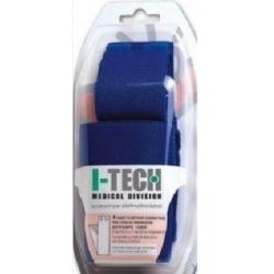 Accessori ElettrostimolatoriI-TECHKit 4 Fasce Conduttive per polpacci