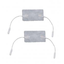 ElettrodiI-TECH2 Elettrodi 50x100 mm a doppio attacco a cavetto