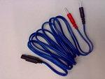 Elettrodi e ricambi elettrostimolatoriI-TECHCavo a spinotto blu per T-One