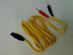 Elettrodi e ricambi elettrostimolatoriI-TECHCavo a spinotto giallo per T-One
