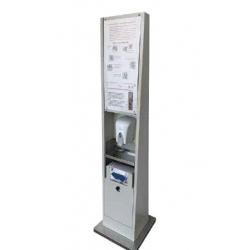 Totem IgieniciJK FitnessTPT Totem Igienico per Ambiente di Lavoro anti COVID19