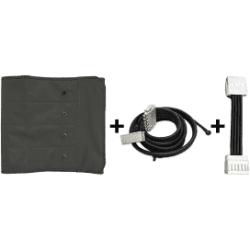 Accessori PressoterapiaMESISPressoterapia PressoMassaggio Plus+ Kit Slim Body: fascia addominale + connettore singolo + sdoppiatore