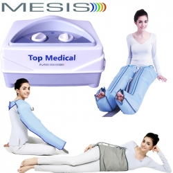 Pressoterapia MESIS Top Medical con 2 gambali, 1 Bracciale e Kit Slim Body