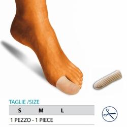 Cura del piedeOK PEDCappuccio proteggi dita rivestito in tessuto Cod.G105