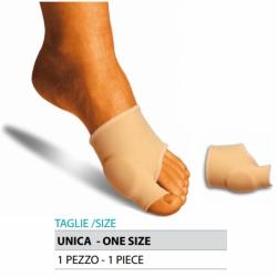 Cura del piedeOK PEDFascetta protezione alluce valgo in gel rivestito in tessuto elastico Cod.G103