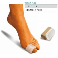 Cura del piedeOK PEDTubo proteggi dita in gel con separatore integrato Cod.G107