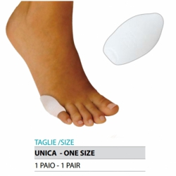 Cura del piedeOK PEDProtezione per dito mignolo valgo in gel Cod.G111