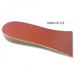 Plantari, SoletteOK PEDOK PED Rialzo tallone 3/4 per dismetrie  h. cm 1,5 cod. 78