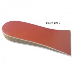 Plantari, SoletteOK PEDRialzo tallone 3/4 per dismetrie  h. cm 2 cod. 79