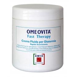 Tecar TerapiaOMEOVITAFast Therapy Crema Fluida professionale per Diatermia ad alto scorrimento da 1000 ml