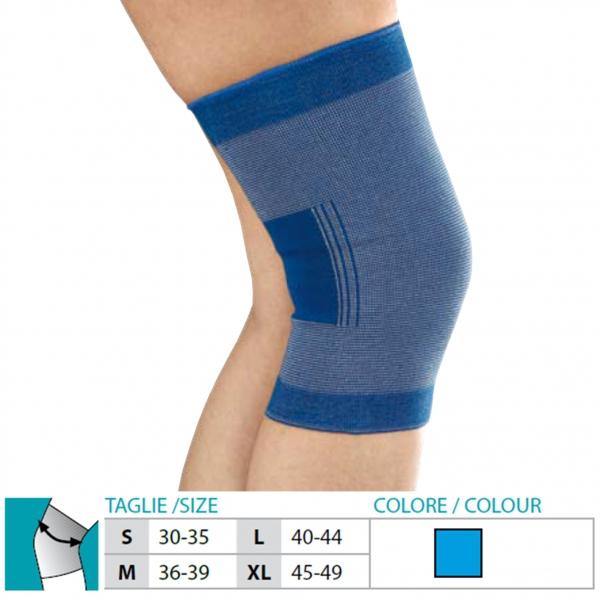 ORIONE  Ginocchiera in tessuto elastico Cod.405