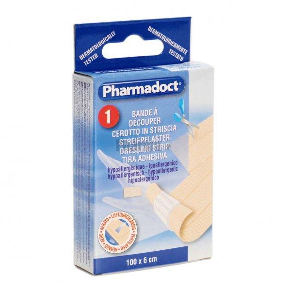 Emergenza E Medicazione Pharmapiù Striscia Cerotto Tnt Elastico 100x6