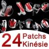 Patchs Kinsie 24 pezzi assortiti