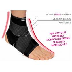 Tutori per Piede e CavigliaTURBOMEDCavigliera elastica per sovraccarico alla caviglia TM363